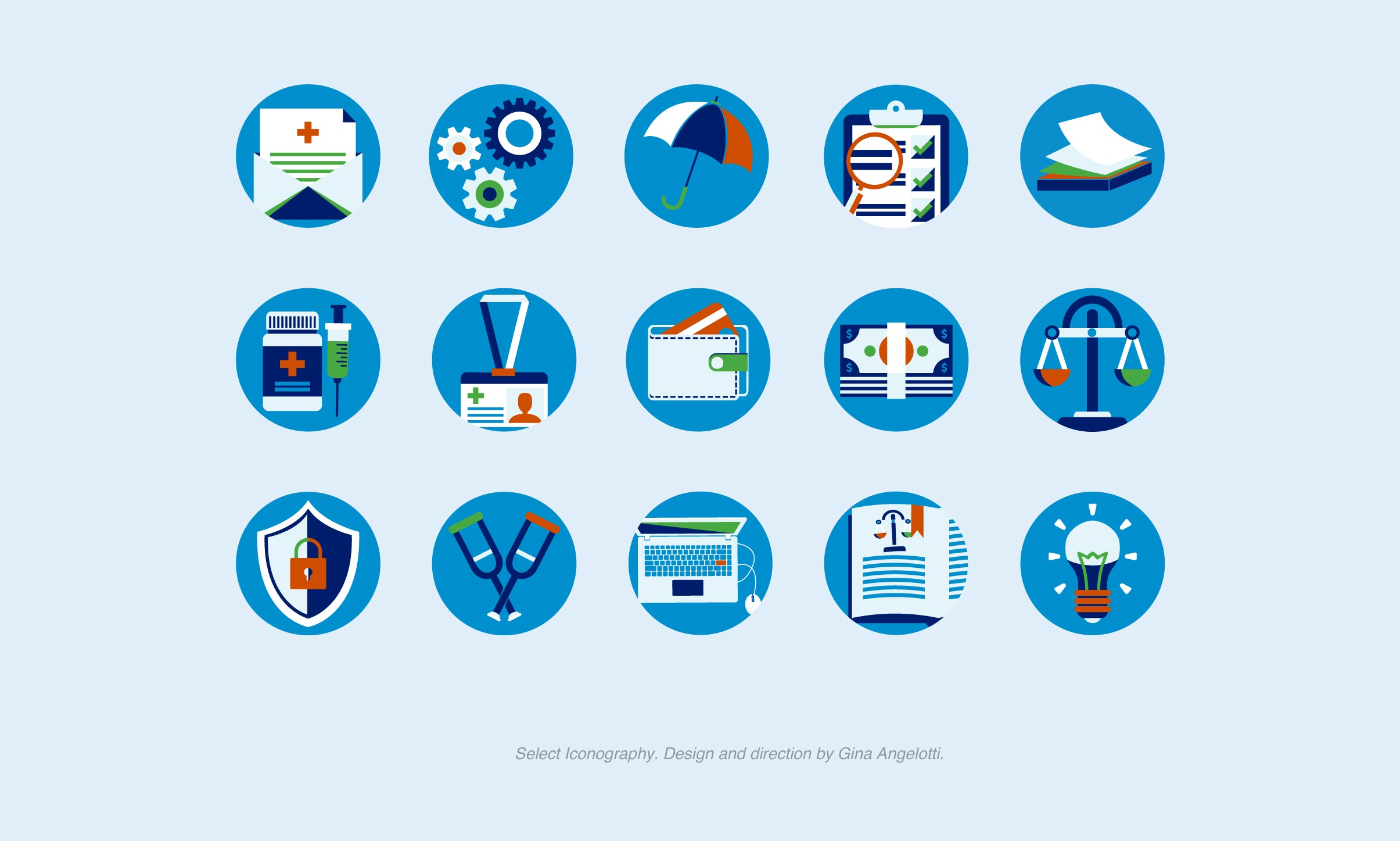 Medicare Interactive Iconography